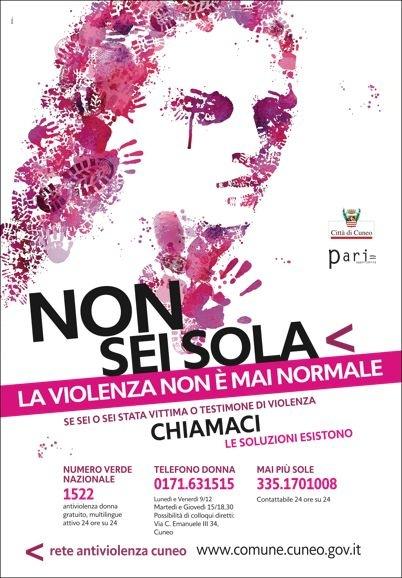 Campagna violenza donne 2011_70x100