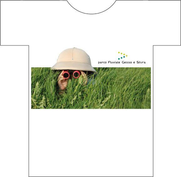 parco fluviale maglietta