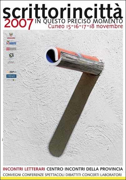 Scrittorincittà SIC 2007 manifesto